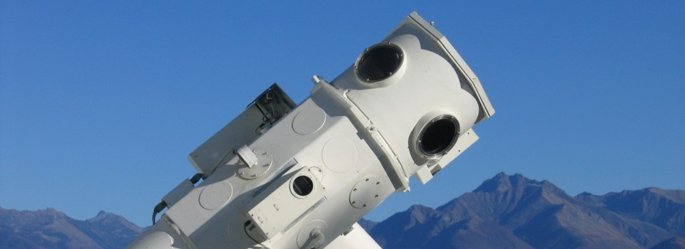 IRSOL Telescope banner
